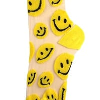 The See Through Smiley Socks