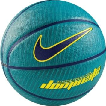 "Nike KD Dominate Basketball (28.5"") - Teal/Yellow - Dick's Sporting Goods"