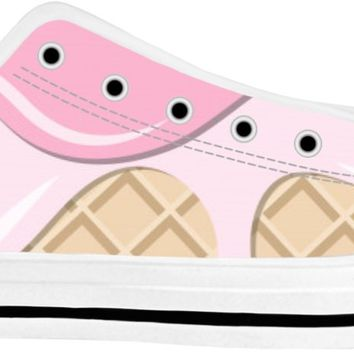 ROLT Ice Cream Cone Adult Shoes