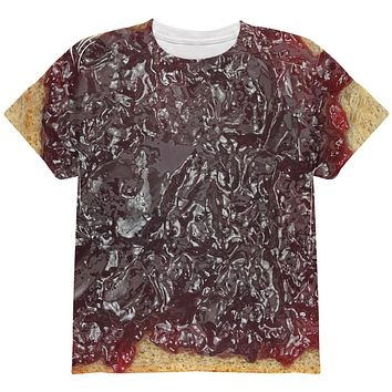 Halloween Jelly PB Costume All Over Youth T Shirt