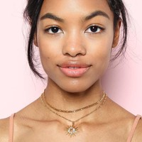Frasier Sterling Starburst Choker