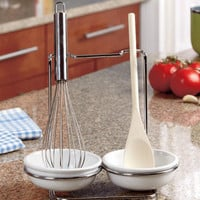 Spoon Rest and Utensil Set