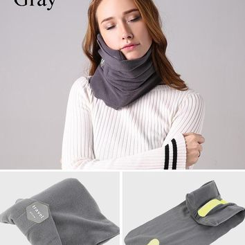 Comfortable Travel Pillow Neck Support Wrap
