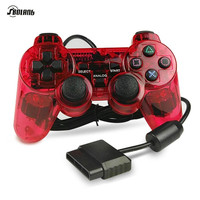 Original 1.5M Wired Dual Vibration Controller Gamepad for Sony Playstation 2 PS2 Controller Dualshock 2 Joystick Console Red