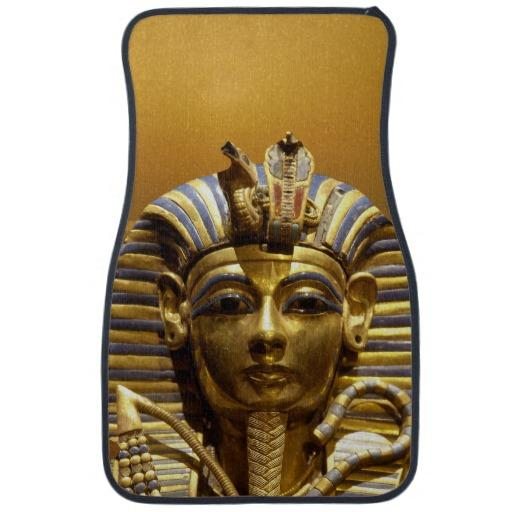 Egypt King Tut Car Mats Set Of 2 From Zazzle