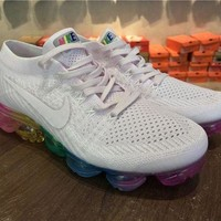 PEAPONVX Jacklish Nike Wmns Air Vapormax Flyknit Pink Colorful For Sale