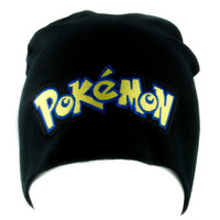 Gotta Catch Em All Pokemon Go Beanie Alternative Style Clothing Knit Cap