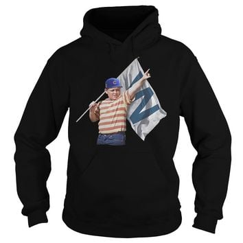 The Sandlot Hold Chicago Cubs W Flag Hoodie