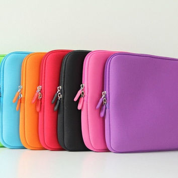 "Candy Color Laptop Computer Neoprene Sleeve Case Bag Pouch Cover  15"" 15.6"" = 1958366404"