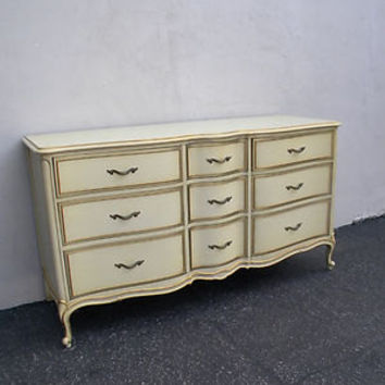 Vintage French Provincial Dresser by Drexel (Touraine Collection)
