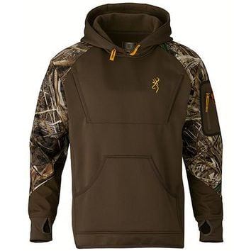 Wicked Wing Timber Fleece Hoodie Realtree Max 5, Large