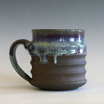Ceramic Mug, ceramic cup, handthrown mug, stoneware mug, pottery mug, unique coffee mug, ceramics and pottery