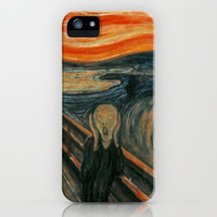 The Scream iPhone & iPod Case by ArtMasters