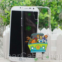 Scooby Doo for iphone 4 case, iphone 5 case, samsung s3 case, samsung s4 case cover in clearcaseshop