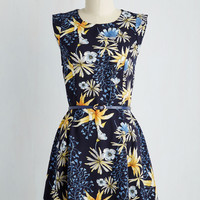Twilight on the Terrace Dress in Tropical | Mod Retro Vintage Dresses | ModCloth.com