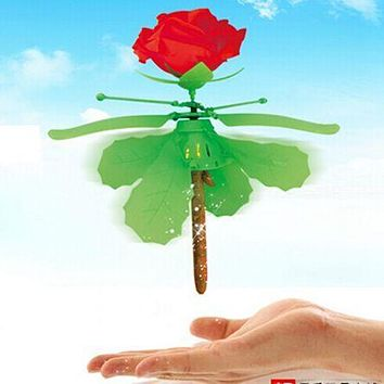 MJDTOYS X50 Rose Induction Flying Electrict Toys Electrict Radio Remote Control RC Helicopter Quadcopter Drones UFO Gift