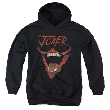 Batman Kids Hoodie Joker Laugh Black Hoody