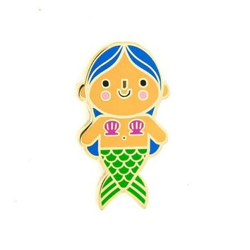 Mermaid Baby Pin