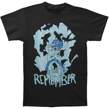 A Day To Remember Men's  Out To Get Me T-shirt Black Rockabilia