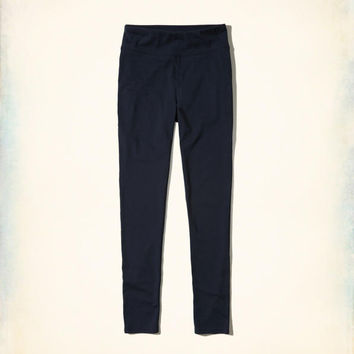 Girls High-Rise Jersey Leggings | Girls New Arrivals | HollisterCo.com