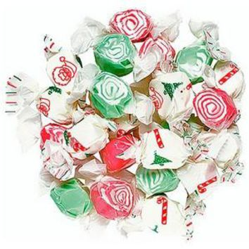 Holiday Salt Water Taffy 1/2 lb