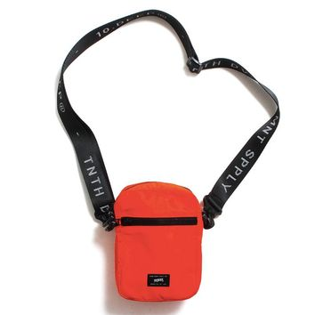 Division Satchel Neon Orange