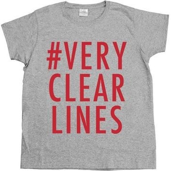 Very Clear Lines -- Women's T-Shirt