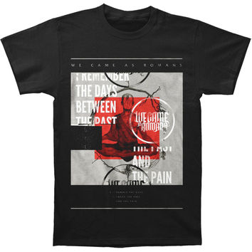 We Came As Romans Men's  Zen T-shirt Black Rockabilia