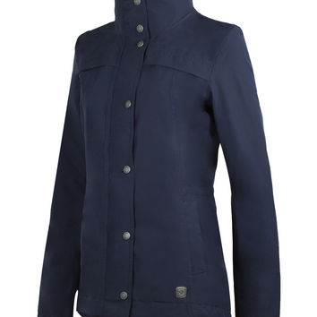 Noble Outfitters Cheval Waterproof Jacket in Navy