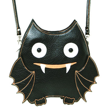 Cute Little Spooky Vampire Bat Bag Purse