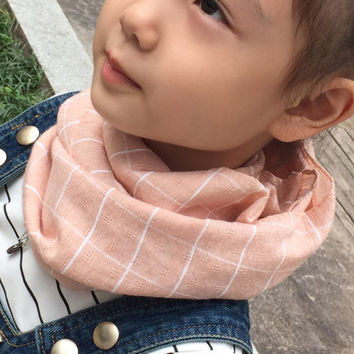 new autumn Winter plaid Chirldren cotton scarves Baby scarf Boys and girls Kids cute shawls and scarves