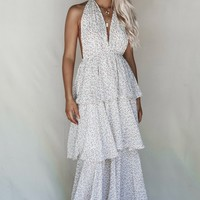 Miley Floral Tiered Maxi Dress