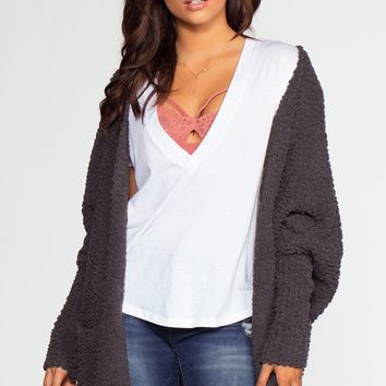 Candice Cardigan - Charcoal
