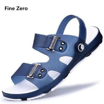 Fine Zero Men water Sandals Summer Breathable Casual Shoes Outdoor Sandal Water Fishing Shoes Beach Flip Flops Zapatos Masculino