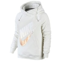 Nike Rally Funnel Metal Hoodie - Women's at Lady Foot Locker