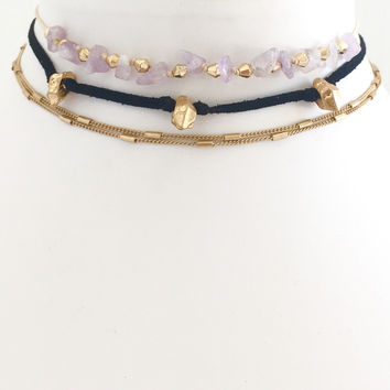 Rocky Road Choker Set
