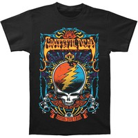 Grateful Dead Men's  Steal Your Trippy T-shirt Black Rockabilia