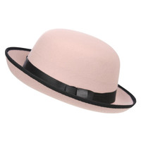 Mia Bowler Hat in Pink