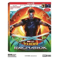 Thor: Ragnarok Target Exclusive (Blu-ray + DVD + Digital)