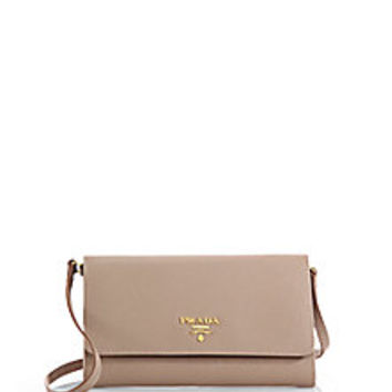 Prada - Saffiano Mini Crossbody Bag - Saks Fifth Avenue Mobile