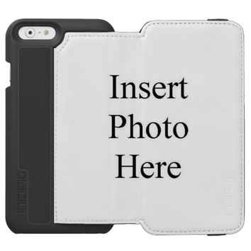 Design Your Own Custom Photo iPhone 6 Wallet Case