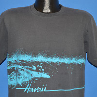 80s Hawaii Surfing Crazy Shirts t-shirt Large