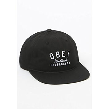 Obey Mens Friday Snapback Hat