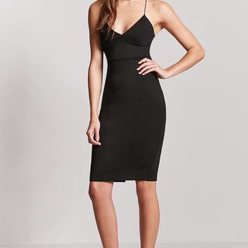Y-Back Bodycon Dress