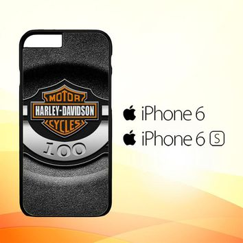 Harley Davidson Motorycles Logo L1931 iPhone 6|6S Case