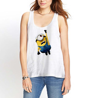 minion Funny Womens Tank Top *