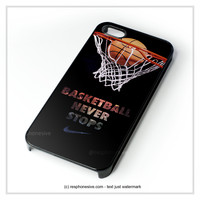 Nike Basketball iPhone 4 4S 5 5S 5C 6 6 Plus , iPod 4 5 , Samsung Galaxy S3 S4 S5 Note 3 Note 4 , HTC One X M7 M8 Case