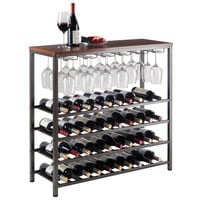 Michelle Wine Rack with Glass Hanger