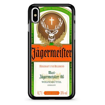 Jagermeister iPhone X Case