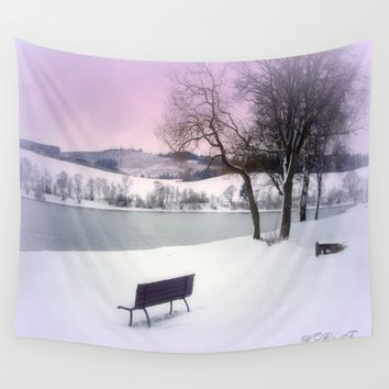 Winter seat Wall Tapestry by Laake-Photos